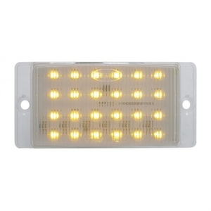 46122-1 by UNITED PACIFIC - 24 LED Amber Rectangular Horn Light