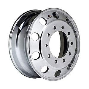 """41644XP by ACCURIDE - Aluminum 22.5"""" x 8.25"""" Wheel - 10 Hand Holes - Extra Polish"""