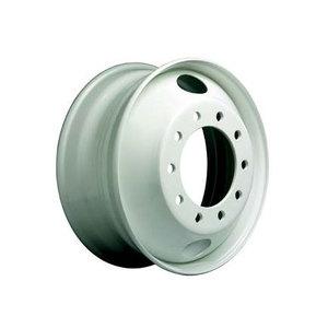 "29637PKBLK21 by ACCURIDE - Steel 22.5"" x 8.25"" Wheel - 10 Hand Holes - Powder Topcoat Coating Finish - Black"