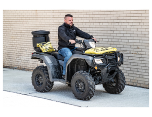 ATVS15A by BUYERS PRODUCTS - Vertical Mount ATV All-Purpose Spreader-15 Gallons