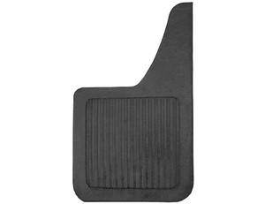 B1018LSP by BUYERS PRODUCTS - Heavy Duty Black Rubber Mudflaps 10x18 Inch (Teardrop Style)