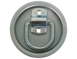 B38RP by BUYERS PRODUCTS - Bolt-On 1/2 Inch Forged D-Ring with Recessed Pan Mount
