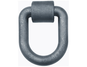 B50 by BUYERS PRODUCTS - 1 Inch Forged Extended D-Ring With Weld-On Mounting Bracket