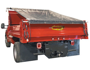 DTR7018S by BUYERS PRODUCTS - Aluminum Tarp System With Solid Tarp 7 x 18 Foot