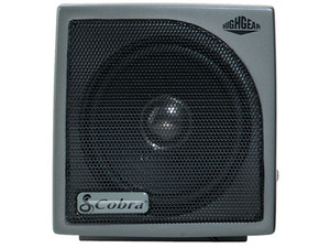 "HGS100 by COBRA ELECTRONICS CORPORATION - CB EXT.SPKR,15W,4"" DIAM,8 OHM,10' CORD"