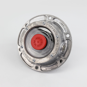 343-4095 by STEMCO - 6-Hole Front Hubcap with Side Plug