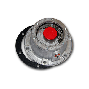 343-4009 by STEMCO - 6-Hole Trailer Hubcap with Side Plug