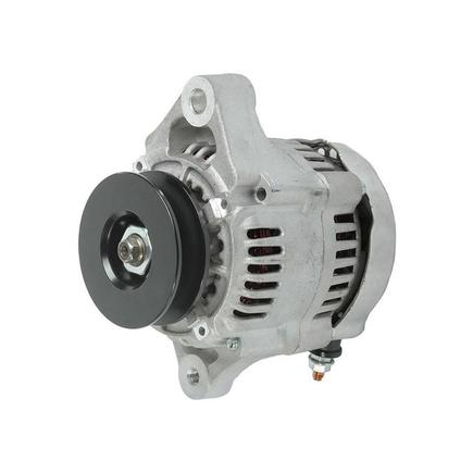 129240-77200 by HITACHI/YANMAR-REPLACEMENT - REPLACES HITACHI/YANMAR, ALTERNATOR, 12-VOLT, 40-AMP, CW, IR/IF