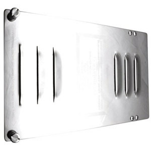 425 by ROADMASTER - Fuse Breaker Compartment Door with Louvers and Decorative Engraving