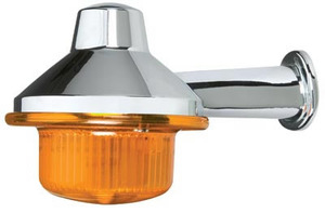 "1875A by ROADMASTER -  Amber 13 LED honda light, 2"" arm"