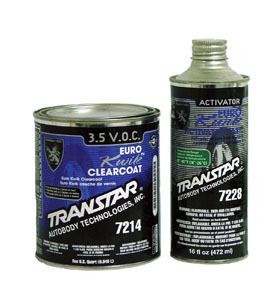 7214 by TRANSTAR - Euro Kwik Clearcoat, QT.