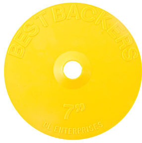 "1407 by GL ENTERPRISES - Best Backers™, 7"" Pad"