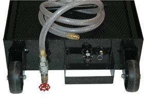EK by JOHN DOW INDUSTRIES - 17 Gallon Low Profile  Portable Oil Drain