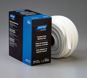 70746 by NORTON - Premium Foam Masking Tape, 20mm x 50m