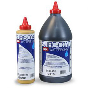 16518 by SEM PRODUCTS - SURE COAT- Yellow 1-Pint Bottle