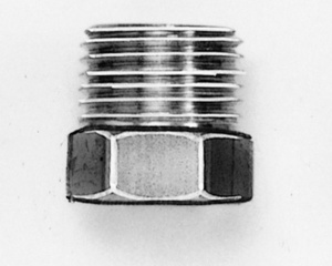 006314 by VELVAC - INVERTED FLARE NUT 1/4 X 7/16 STEEL