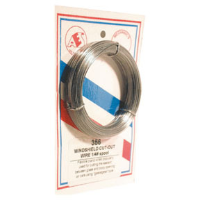 356 by AES INDUSTRIES - 150' Piano Wire Roll (1/4lb), Silver