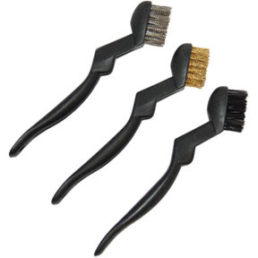612 by AES INDUSTRIES - Scratch Brush Set, 3 Pieces