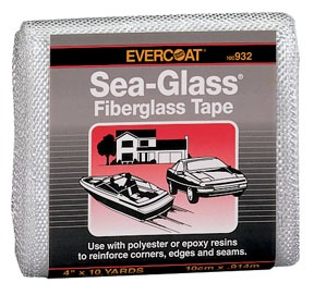 932 by FIBRE GLASS-EVERCOAT - FG TAPE PACKAGED 4X10