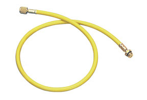 "84725 by MASTERCOOL - 72"" YLW R134A HOSE W/SHUT OFF"