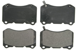 ZX1049 by FEDERAL MOGUL-WAGNER - QuickStop Semi-Metallic Disc Brake Pad Set