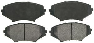 ZX1009 by FEDERAL MOGUL-WAGNER - QuickStop Semi-Metallic Disc Brake Pad Set