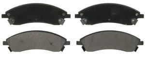 ZX1019A by FEDERAL MOGUL-WAGNER - QuickStop Semi-Metallic Disc Brake Pad Set