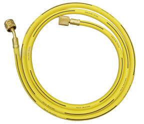 """36793 by ATD TOOLS - A/C Charging Hose, 63"""", Yellow"""