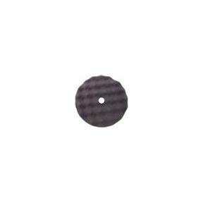 "820FBW by BUFF 'N SHINE - Convulted Foam Pads, Flat Back, Black, 8"" x 1"""
