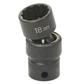 "1121UM by GREY PNEUMATIC - 3/8"" Drive x 21mm 12 Point Standard Universal Socket"