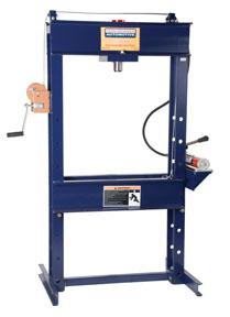 HW93300 by HEIN-WERNER AUTOMOTIVE - 25 Ton Shop Press with Hand Pump