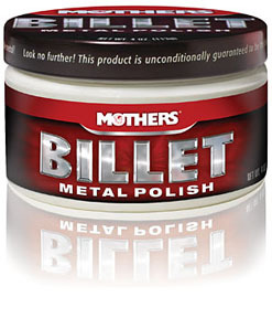 05106 by MOTHERS WAX & POLISH - Billet Metal Polish 4oz.