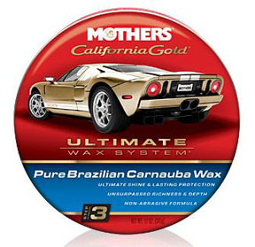 05550 by MOTHERS WAX & POLISH - Pure Brazillian Carnauba Wax- UWS® Step 3 (Paste)