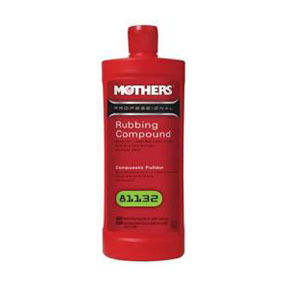 81132 by MOTHERS WAX & POLISH - Rubbing Compound, Qt