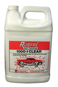 1000-6C by RUSFRE - Rust Proofing – Clear, 1-Gallon