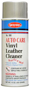 990 by SPRAYWAY - Vinyl Leather Cleaner