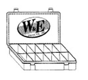 PD-126 by W & E FASTENERS - Plastic Dispenser Assortment