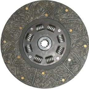 """RCD0134RX by HALDEX - Remanufactured Disc Assembly for 12"""" Lipe Clutch"""