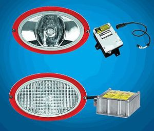 996261787 by HELLA USA - WORKLIGHT OVAL 100 XEN D1S 12V CR FLSH
