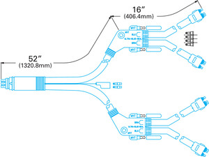 66002 by GROTE - TRAILER WIRING, GROU