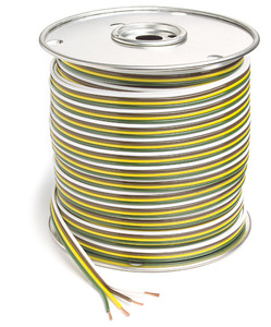 82-5513 by GROTE - Parallel Bonded Wire, Primary Wire Length 1000ft., 4 Conductor, 14 Gauge