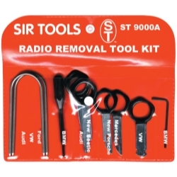 ST9000A by SIR TOOLS - Deluxe Radio Removal Tool Kit