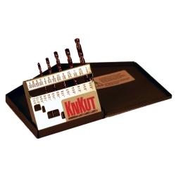 5KK6 by R W THOMPSON INC - KnKut 5 Piece Left Hand Jobber Length Drill Bit Set