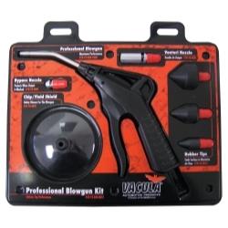 72-020-8051 by VACULA - BlackStar 020, 7 pc. Professional Blowgun Kit