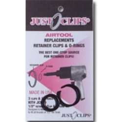750-5 by JUST CLIPS - 5 Pack, 3/4 in. Anvil Retainer Clip Refill Pack