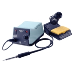 WES51 by WELLER - Analog Soldering Station with Power Unit, Soldering Pencil, Stand and Sponge