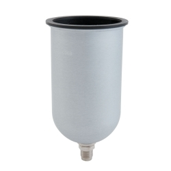 6690 by SHARPE - 34 oz. Aluminum Gravity Feed Cup - 1L