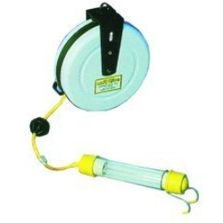 3613-4000 by GENERAL INDUSTRIAL MANUFACTURES - Stubby II® Fluorescent Light with 40' Cord and Reel