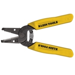 11047 by KLEIN TOOLS - Flat Design Wire Stripper/Cutter for 22-30 AWG Stranded Wire