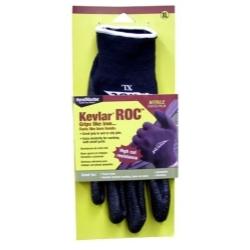 ROC30TXL by MAGID GLOVE & SAFETY MFG.LLC. - Kevlar® ROC™ Nitrile Coated Palm, Black Kevlar® Lycra Shell Glove - Extra Large